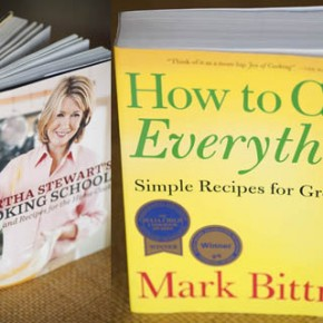On Our Bookshelf - Great Cookbooks for Beginners