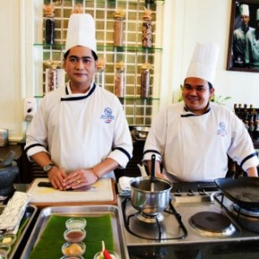 Learn Thai Cooking at the Blue Elephant Cooking School in Bangkok, Thailand