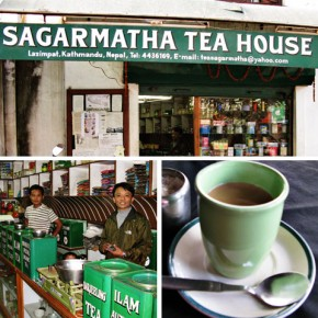 Sample and Buy Tea and Spices at Sagarmatha Tea House, Kathmandu, Nepal