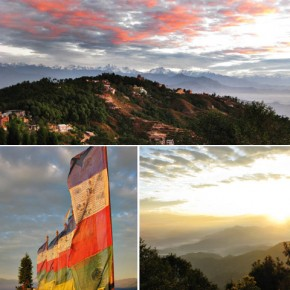 Trekking from Kathmandu to Nagarkot and Club Himalaya, Nepal