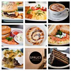 Cakes, Burgers, Eggs, and More - Brunch at Spruce Singapore