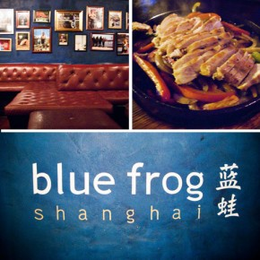 Chill Out with Cocktails & Comfort Food at Blue Frog, Shanghai
