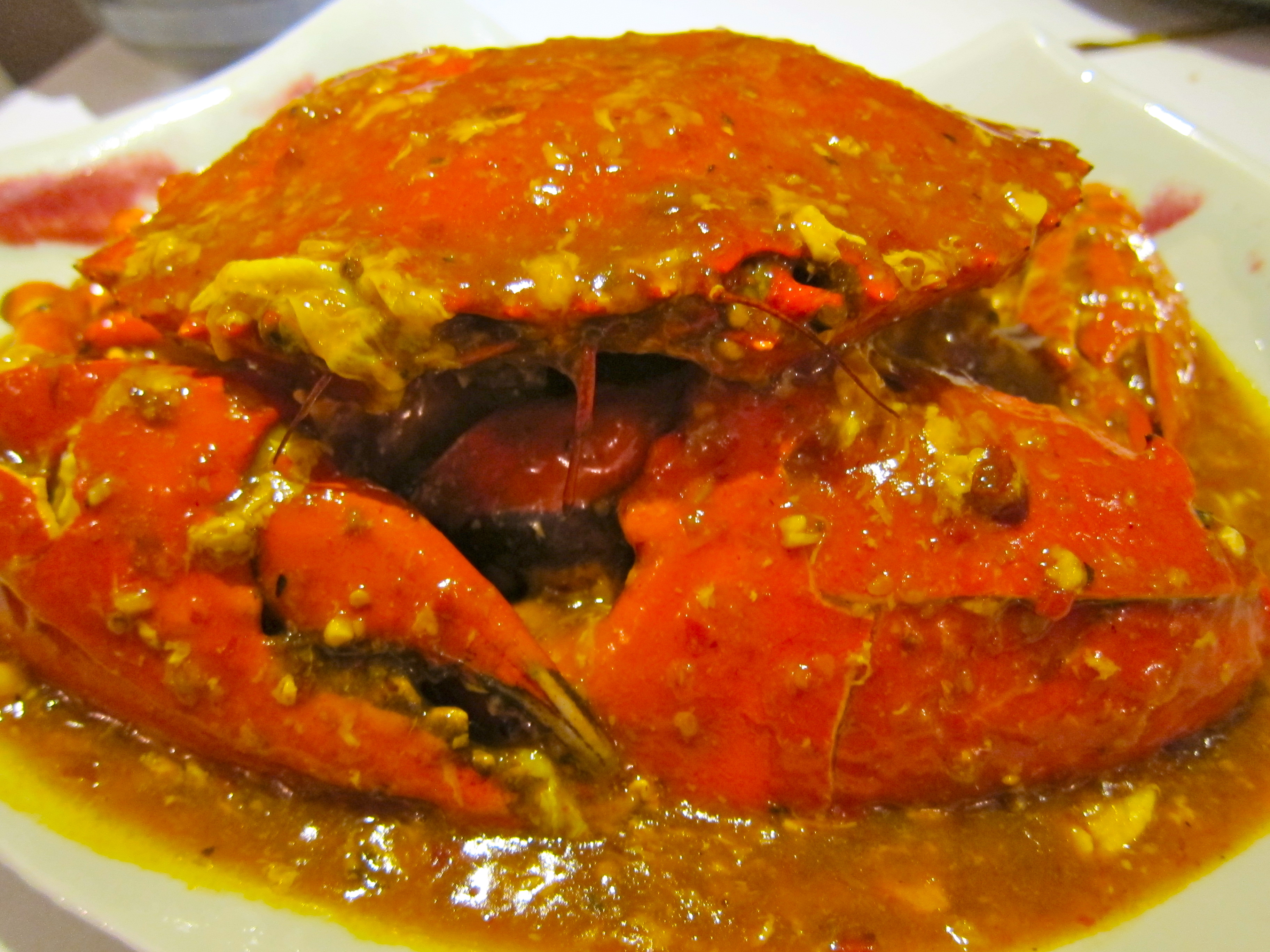 Singaporean chili & pepper crab at Pulau Ketam, Shanghai ...