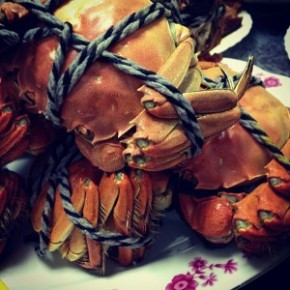 My latest post on Chubby Hubby - 'Tis the Season for Hairy Crab in Shanghai