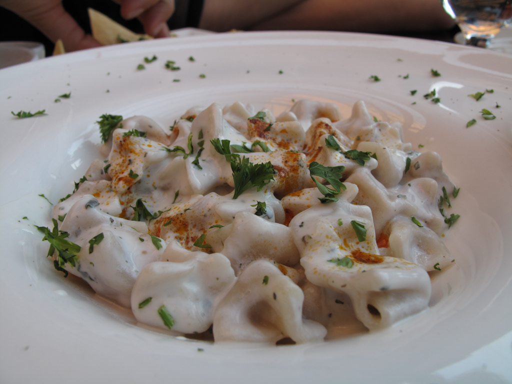 turkish manti dumpling