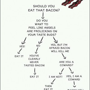 Accidental Funnies - Bacon Decision Tree Chart