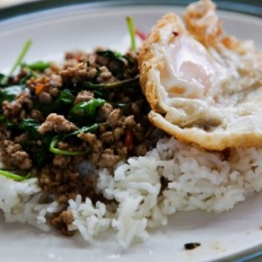 Read Chubby Hubby - Recipe for Thai Krapow Gai (Chicken with Holy Basil & Chilies)