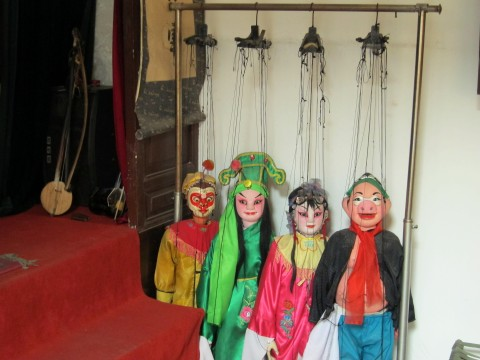 xian china folk house puppets