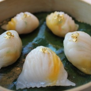 Michelin-starred Dim Sum in Hong Kong - Tin Lung Heen, read on Chubby Hubby